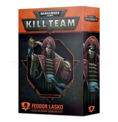 Kill Team: Feodor Lasko Commander set