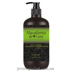 De Luxe Macadamia Nourishing Conditioner - Кондиционер питательный с маслом Макадамии