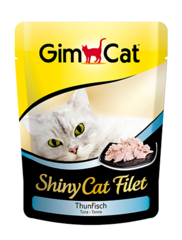 Gimcat Пауч Shiny Cat Filet тунец для кошек