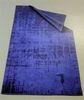 Полотенце пляжное 100х170 Trussardi Link голубое