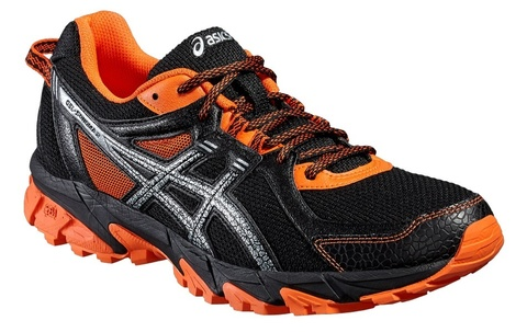 ASICS GEL-SONOMA 2 мужские кроссовки внедорожники черные