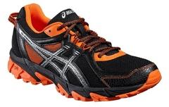 Мужские кроссовки внедорожники Asics Gel-Sonoma 2 T634N 9093 черные | Интернет-магазин Five-sport.ru