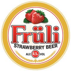 Пиво Fruli Strawberry