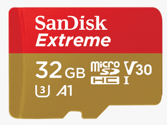 MicroSD 2X-32GB SANDISK Extreme 2-Pack With adapter 100MB/667X