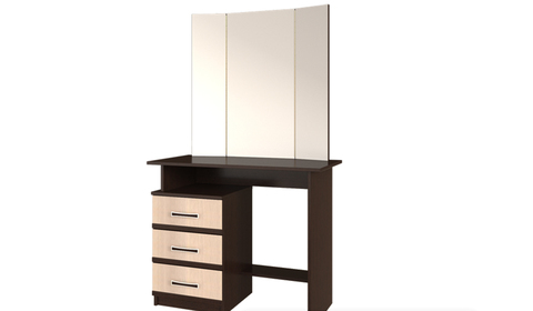 Косметический стол Сакура БТС Венге/лоредо