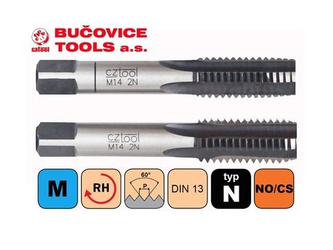 Метчик М10х1,0 (комплект 2шт) CSN223010 2N(6h) CS(115CrV3) Bucovice(CzTool) 110102