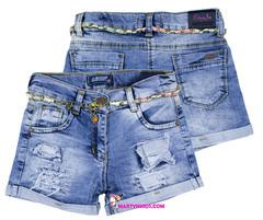 535 шорты джинсовые поясок