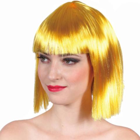 Парик Каре жёлтый