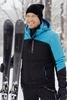 Премиальный теплый лыжный костюм Nordski Mount Blue-Black мужской