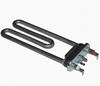 Тэн для стиральной машины LG/Samsung 1900W, средний L-175mm/прямой/пластик бак Thermowatt без отверстия