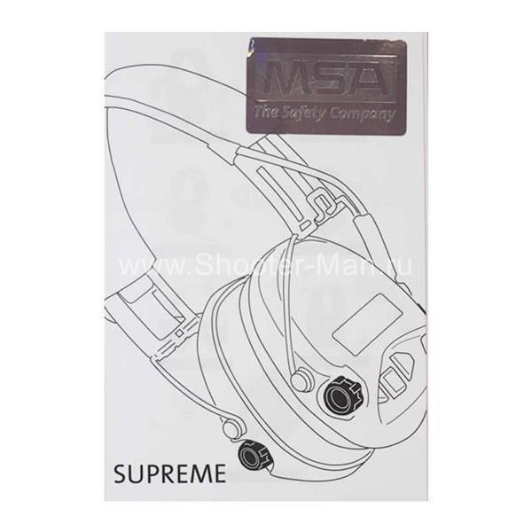Стрелковые наушники MSA Sordin Supreme PRO X-LED