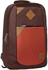 Рюкзак Bagland Baretti 14 л. коричневий/кирпич (0011866)