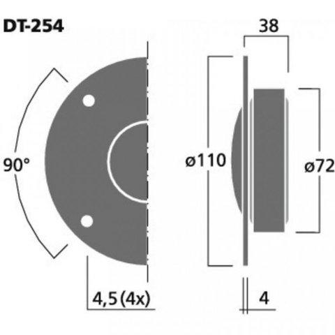 Monacor DT-254
