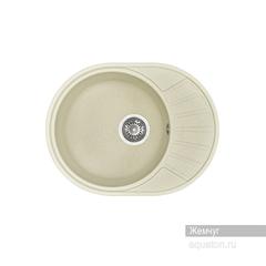 Мойка Акватон Чезана 1A711232CS240 для кухни из искусственного камня, жемчуг