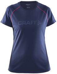 Футболка беговая Craft Prime Run Logo женская