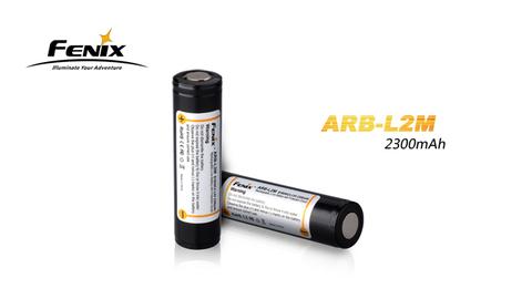 Аккумулятор Fenix 18650 PCB 2300 mAh c защитой ARB-L2