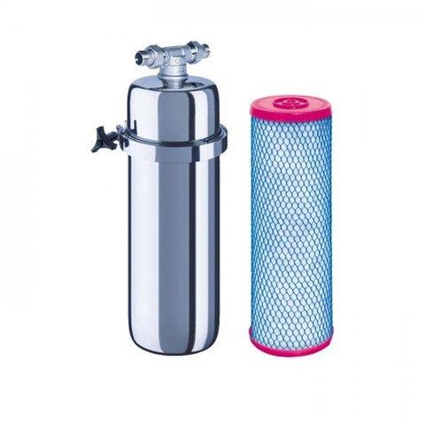 Магистральный фильтр Аквафор Викинг для предварительной очистки горячей воды