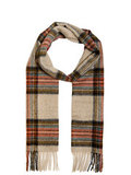 Barbour шарф Country Check Cream