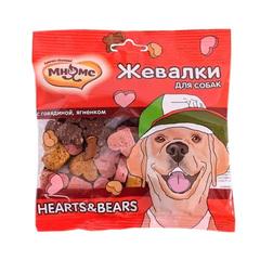Мнямс лакомства для собак Жевалки с говядиной и ягненком 90гр