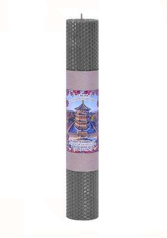 Свеча Императорский дворец серебряная 30см