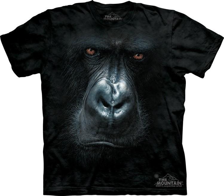 Футболка Mountain с изображением гориллы - In the Mist