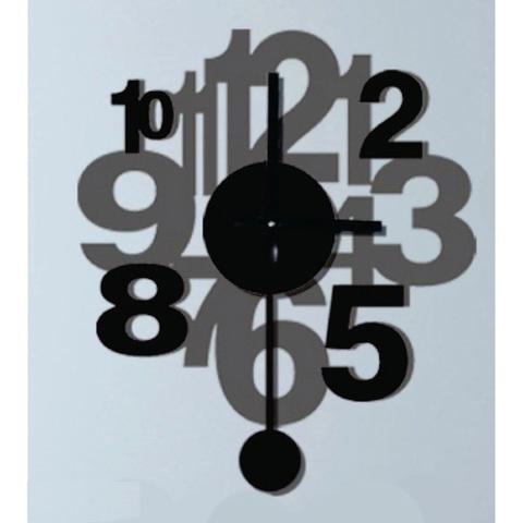 Часы-наклейка 1*AА батарея (в комплект не входит), NL37 (Feron)