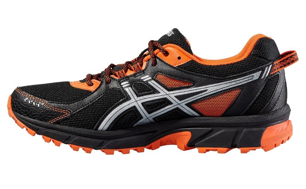 Беговые кроссовки для мужчин Asics Gel-Sonoma 2 (Асикс гель-сонома) черные фото