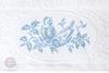 Полотенце 70х140 Devilla Птички голубое