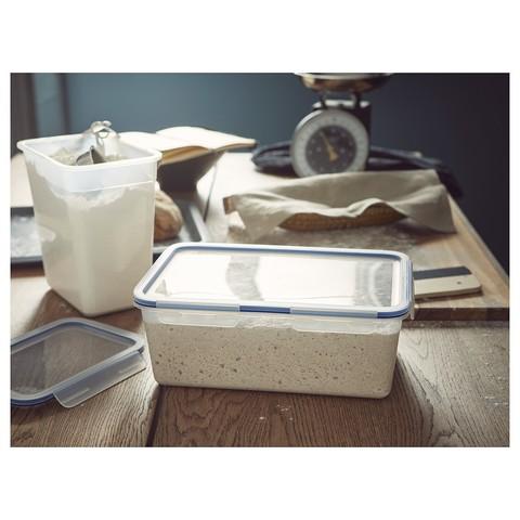 ИКЕА/365+ Контейнер для продуктов большой прямоугольн формы, пластик