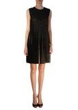 Платье из шерсти и вискозы ROBERTO CAVALLI