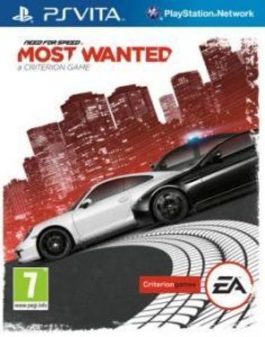 Sony PS Vita Need For Speed Most Wanted (2012) (русская версия)