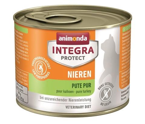 Animonda Integra Protect Cat (банка) Nieren (RENAL) pure Turkey