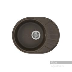 Мойка Акватон Чезана 1A711232CS280 для кухни из искусственного камня, кофе