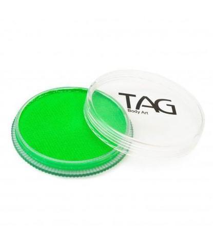 Аквагрим TAG 32гр неоновый зеленый