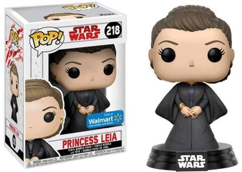 Фигурка Funko POP! Bobble: Star Wars: The Last Jedi: Princess Leia Wootbox exc
