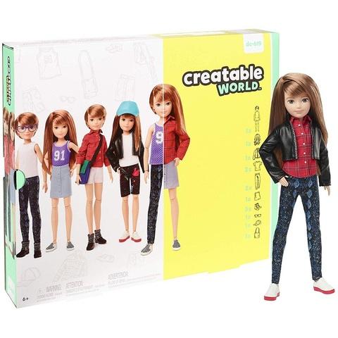 Creatable World Кукла с Рыжими Прямыми Волосами