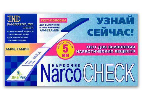 Тест-полоска NARCOCHEСK  амфетамин выявления в моче
