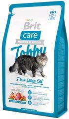 Корм для крупных кошек, Brit Care Cat Tobby, с уткой и курицей