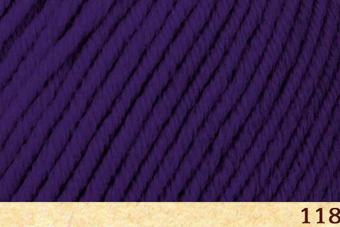 Пряжа Fibra Natura Dona 18 фиолетовый