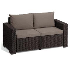 Двухместный диван под ротанг Allibert California 2