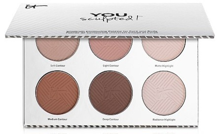IT Cosmetics You Sculpted! Universal Contouring Palette палетка для лица