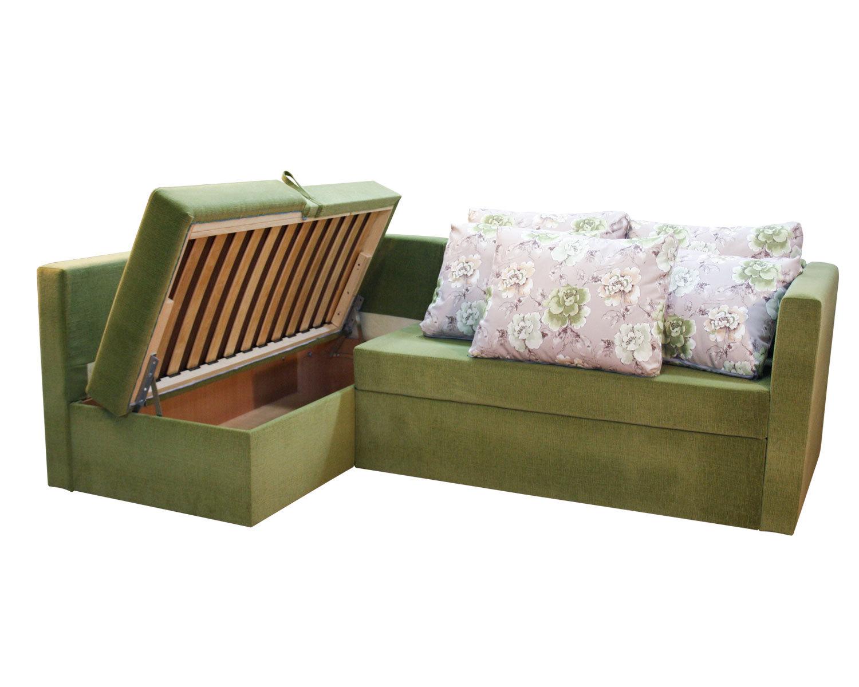 Угловой диван-кровать Карелия 2Я2д, ящик для белья