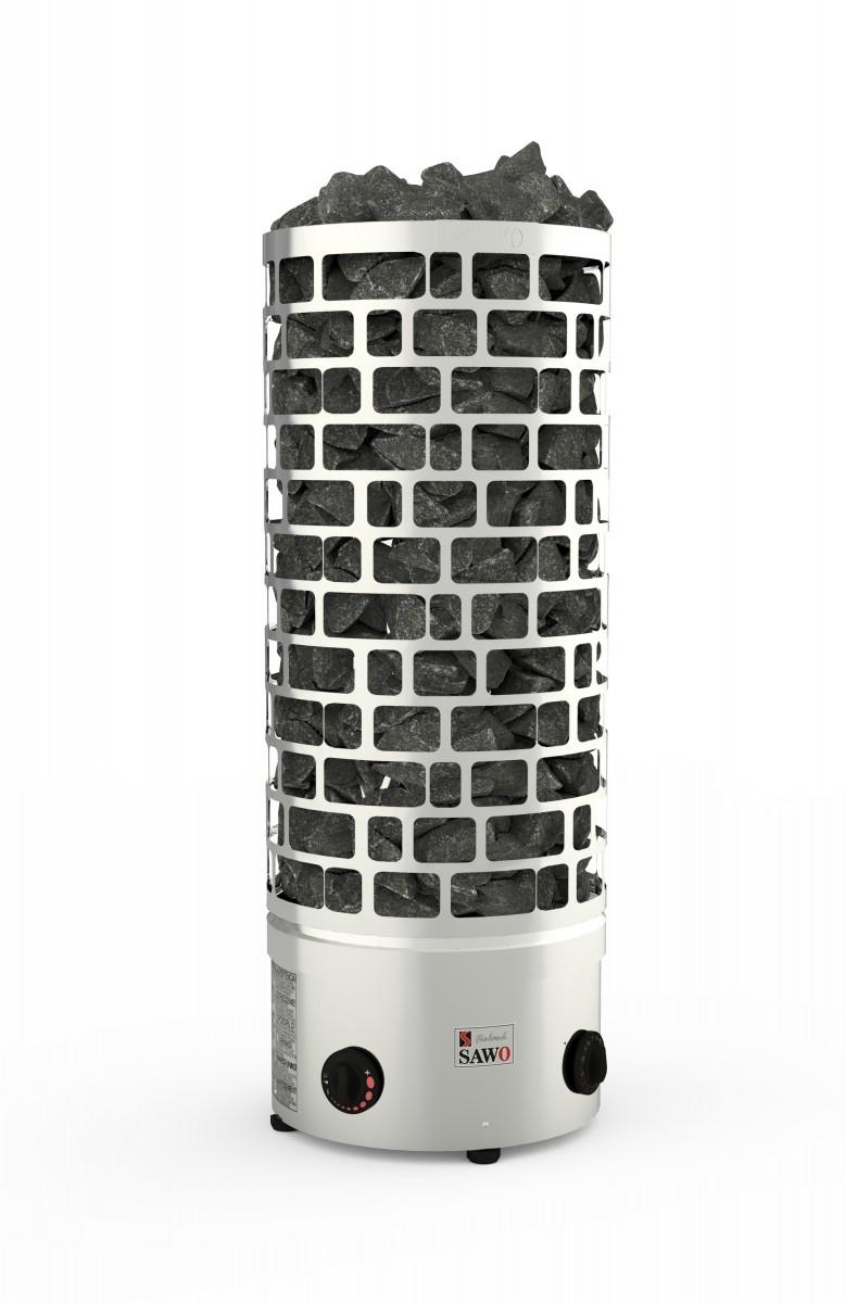 Серия Aries: Электрическая печь SAWO ARIES ARI3-45NB-P (4,5 кВт, встроенный пульт, нержавейка)