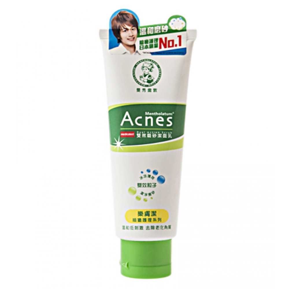 Mentholatum Acnes Medicated Dual Action Scrub
