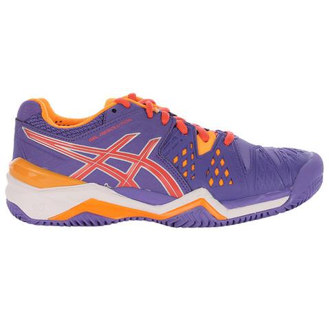 Asics Gel-Resolution 6 Clay Кроссовки теннисные женские (3306)