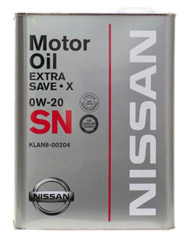 NISSAN EXTRA SAVE X SN 0W20