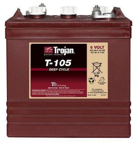 Аккумулятор Trojan T105 - фото 2