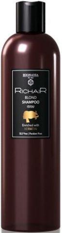 Шампунь для осветлённых и обесцвеченных волос c кератином, Richair Egomania, 400  мл.