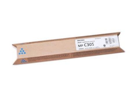Тонер-картридж тип MPC305E голубой для Ricoh Aficio MPC305SP/SPF. Ресурс 4000стр. (842082)