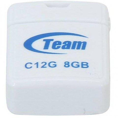 Накопитель Team C12G 8GB USB 2.0 White (TC12G8GW01)
